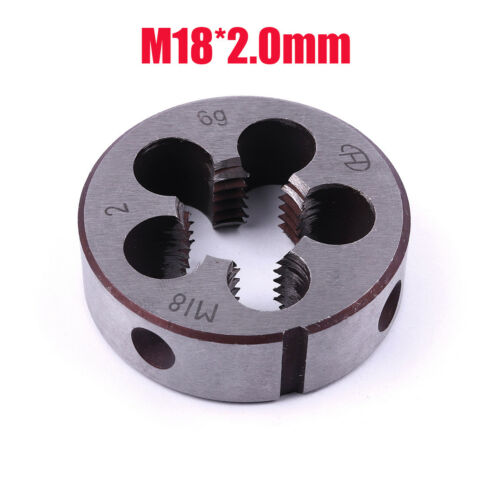 HSS Metric Die Right Hand Thread M18 x 2.0mm Pitch Machine Molding