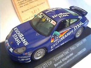 Porsche-911-GT3-Cup-19-Maylander-1999-Supercup-Onyx-XCL99015-Diecast-1-43
