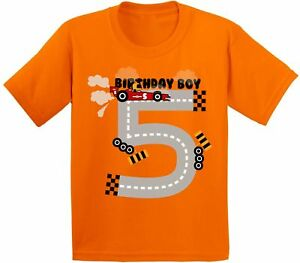 Image Is Loading Birthday Boy Youth Shirt Race Car Party