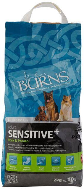 Burns Sensitive Pork Potato 2kg Complete Hypo Allergenic Dry Dog Food