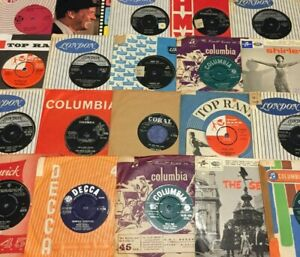 Instant-Record-Collection-Starter-Pack-15-x-7-039-039-Vinyl-Singles-60s-70s-80s-90s