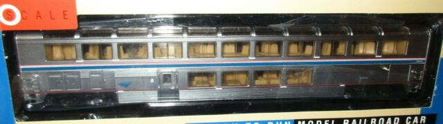 Walthers HO Scale Amtrak Superliner I Lounge - Phase 4B - Item 932-16194