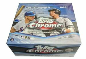2020 Topps Finest béisbol pasatiempo caja sellado de fábrica 2 autos 12 paquetes