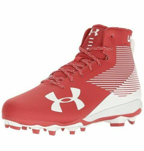 Under Armour Men Hammer MC Football Cleats 1289775 611 Red White Size 14