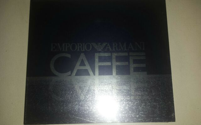 EMPORIO ARMANI CAFFE  2 * NEU+OVP☆LOUNGE+CHILLOUT♡Kampengrooves☆Cappuccino Cafe☆