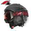 Classic-Skibrille-F2-Alpinski-Snowboard-Brille-Schwarz-S2-Filter-Orange-getoent Indexbild 4