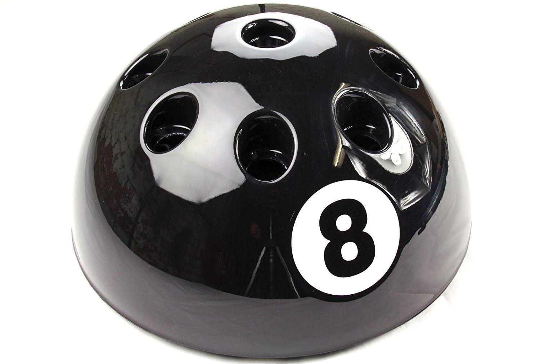 Nuevo Gigante Circular Negro Bola 8 Señal Soporte Estante  Snooker Billar Mesa de  ahorra hasta un 70%