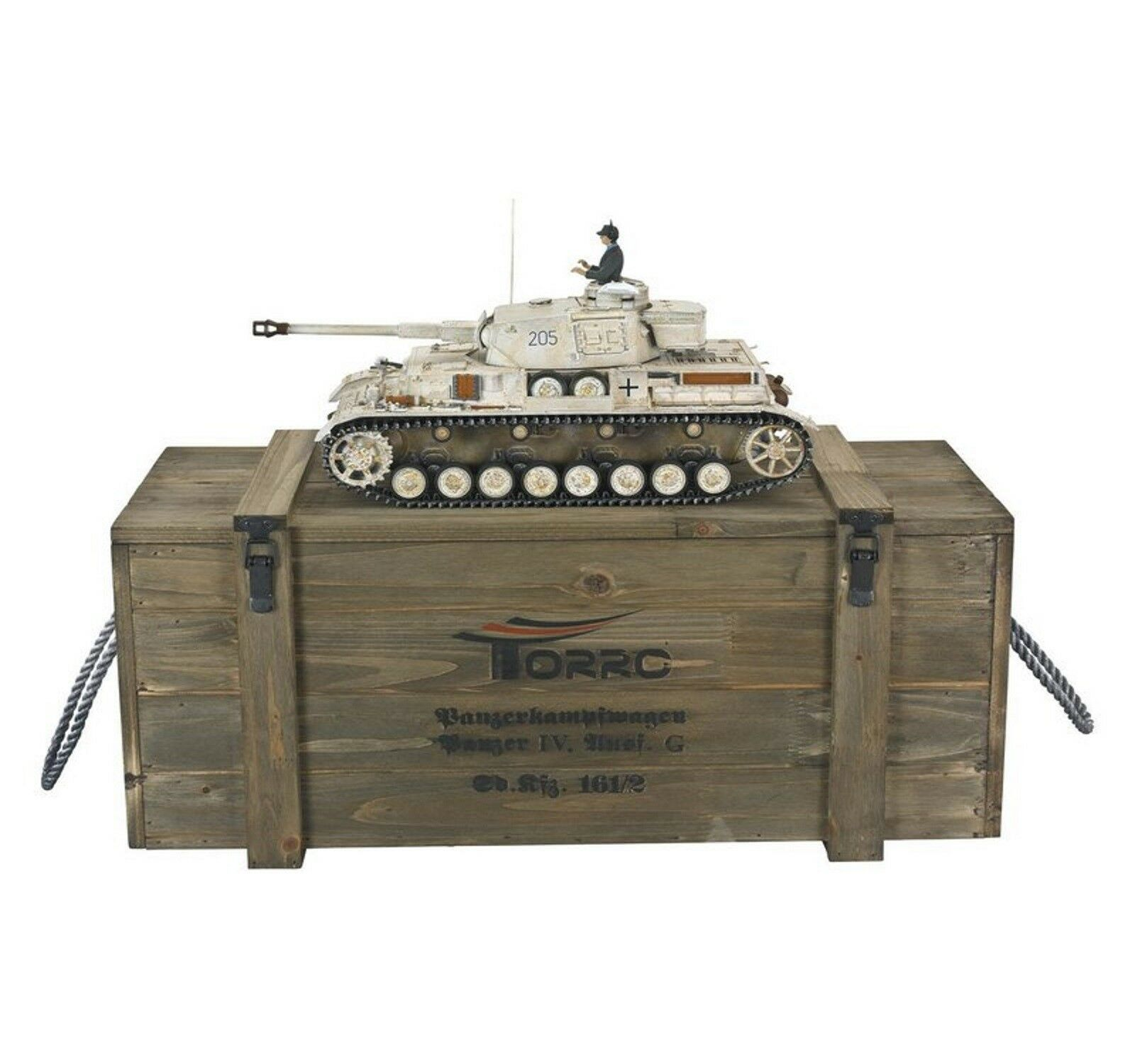 Torro 1 16 RC Panzer Kpfw IV.G Div. LAH Kharkov1943 B 1110385901 Metall