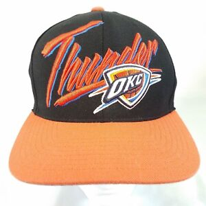 pretty nice 8ee5c 51d9d Image is loading Mitchell-amp-Ness-Oklahoma-City-Thunder-NBA-Black-