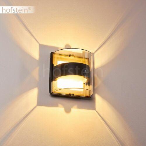 Up Down Außen Wand Lampen LED Anthrazit Balkon Terrassen Haus Tür Hof Leuchten