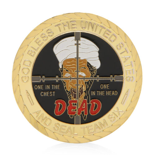 God Bless The United States 911 Attack Commemorative Collectible Challenge Coin