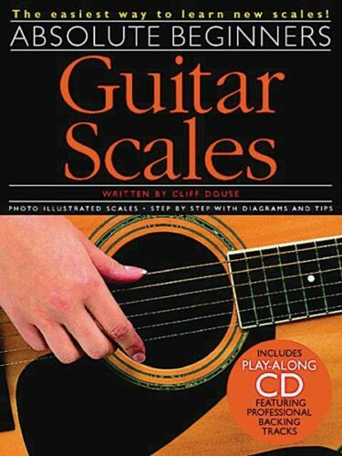 Book and CD NEW 014001003 Absolute Beginners Guitar Scales