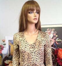 FOREVER 21 Top  Leopard Sparkle S Designer  Fashion  Hip Young Fun  Party
