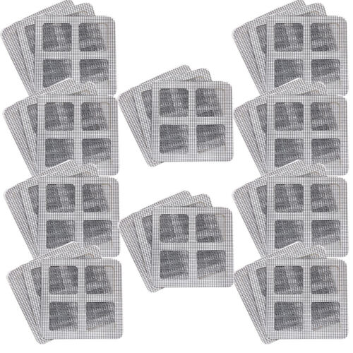 3-30Pcs Mesh Net Window Door Repair Fix Patches Mosquito Screen for Covering Up