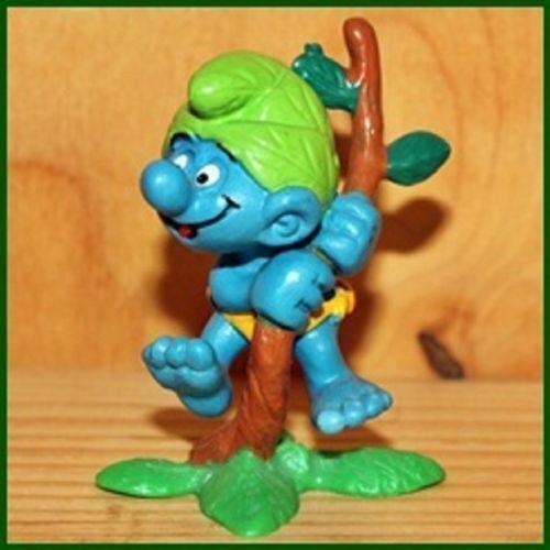 20230 jungle nature-nine smurf puffi pitufo schlumpf Smurf schleich