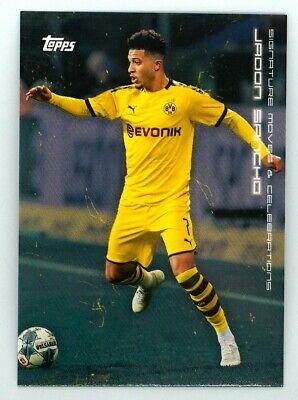 Impermeable Sancho #22 Topps 2020 BVB Borussia Dortmund Trading Card