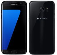 Samsung Galaxy S7 Edge G935F 32 GB Black Onyx Unlocked Cellular Phones