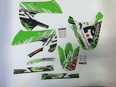 Di Larghe Vedute Kit Adesivi Grafiche Kawasaki Kx 65 2004 Con Le Attrezzature E Le Tecniche Più Aggiornate