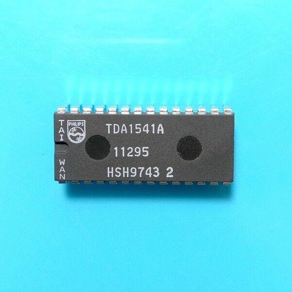 1PCS  Dual 16-bit DAC IC PHILIPS DIP-28 TDA1541A DC:9743 100/% Genuine Original