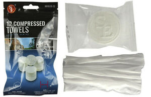 12-Tablet-Wash-Cloths-Compressed-Towels-Capsules-Camping-Survival-Kits