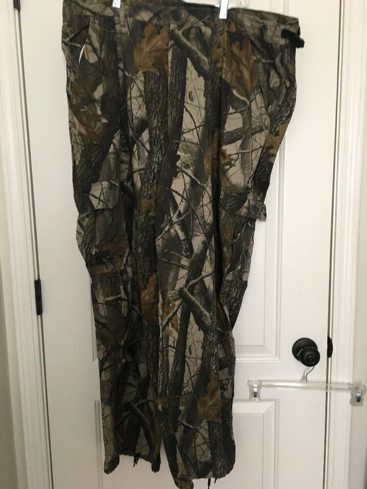 Outfitters Ridge Mens Realtree Hardwoods Hunting Pants Sz 2XL 44 46 Clothes