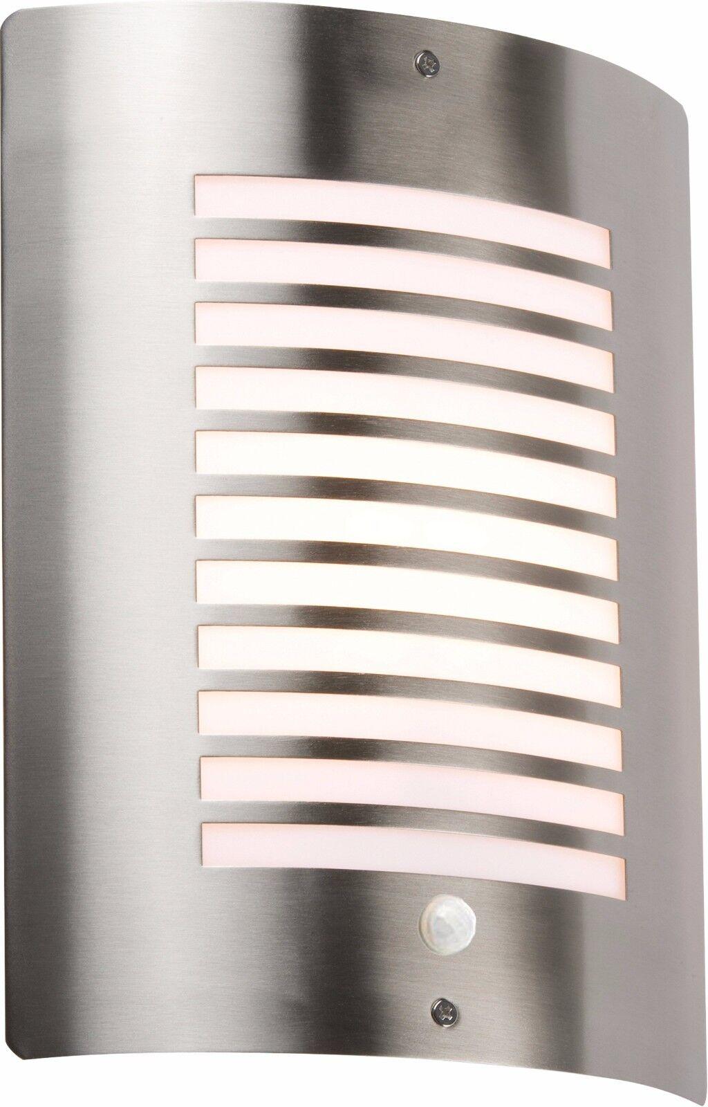 Knightsbridge außen Wandlicht passend Vorrichtung PIR Sensor Edelstahl Lampe | Viele Sorten  | Diversified In Packaging  | Haltbarkeit