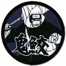 **License** Naruto Shippuden SD Kisame Round Iron On Patch iron/ sew on sealed