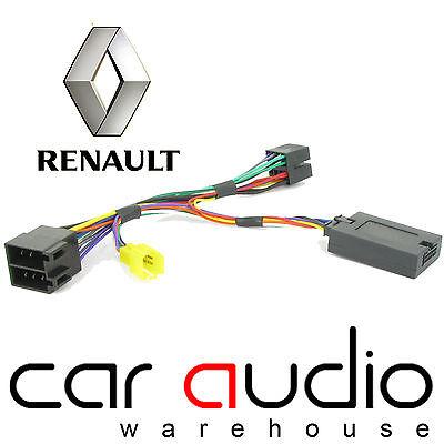 Renault Twingo 2000-2007 Car Steering Wheel Phone Interface Adaptor Pioneer Lead