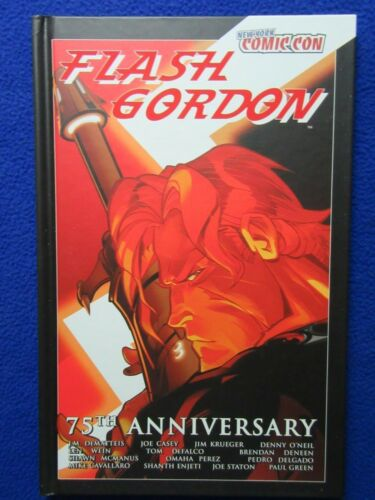 FLASH GORDON 75TH ANNIVERSARY HARDCOVER FOR NEW YORK COMIC CON 2009