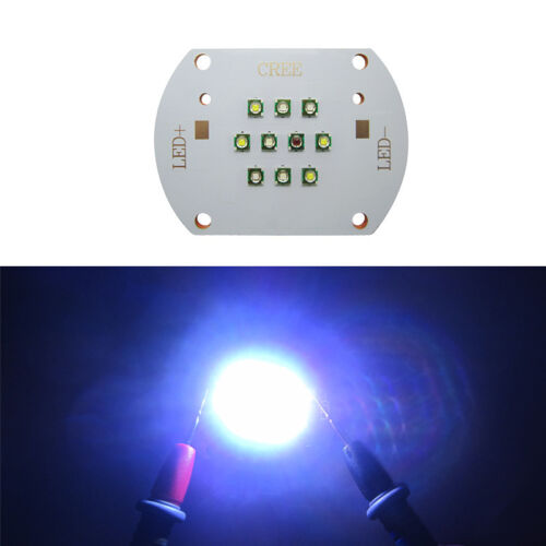 30W CREE XP-E LED Light 28V-29V Cold White+Royal Blue+Blue+White+Green+Red Lamp