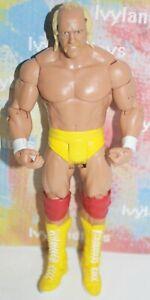 WWE Hulk Hogan Mattel Basic Action Figure WWF Wrestlemania ...