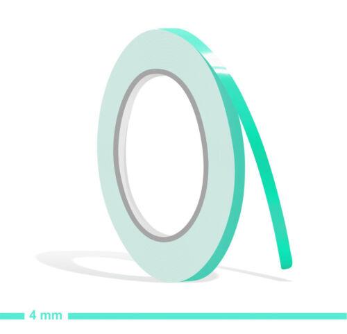 Zierstreifen mint 4mm 10m Folie Aufkleber Auto Klebeband Boot grün mintgrün