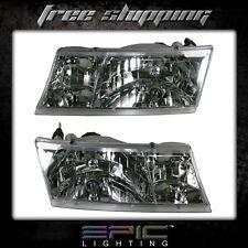 Fits 1998-02 Mercury Grand Marquis Headlights Headlamps Pair Left Right Set