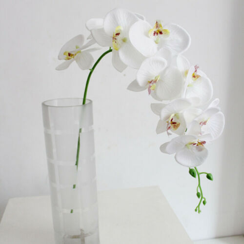 Artificial Butterfly Orchid Silk Flower Party Fake Plant Indoor Bouquet Decor