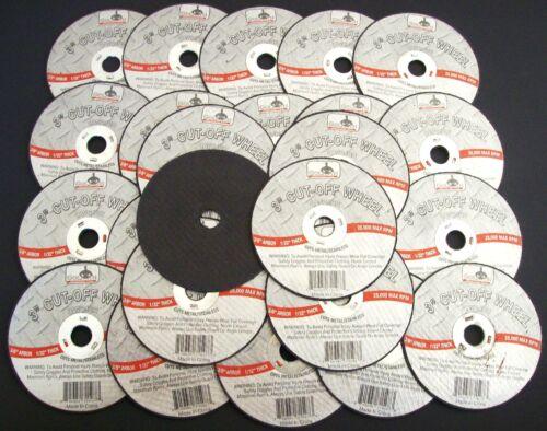 "25 GOLIATH INDUSTRIAL 3/"" AIR CUT OFF WHEELS DISCS 1//32/"" DOUBLE REINFORCED CW3132"