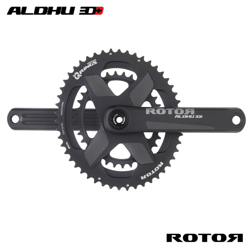 rojoor ALDHU Bielas 3D+ 110BCDX4 BB30mm longitud del brazo del eje - 150,165,170,172.5mm
