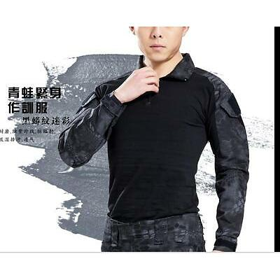 Hot Mens Military Trousers Camo Combat Army Cargo Work Outdoor Shirts