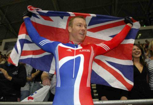 Chris Hoy Cycling World Champion 10x8 Photo #3