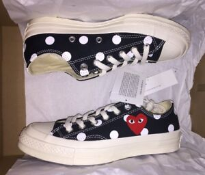 converse play polka dot