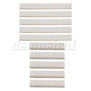 5-Sets-Hard-Bone-Blank-Saddle-Nut-for-Accoustic-Classical-Guitar-White