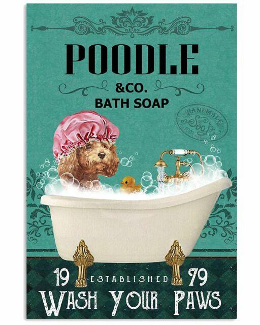 Red Bath Soap Company Black Cat Poster Art Print Decor 11x17 16x24 24x36