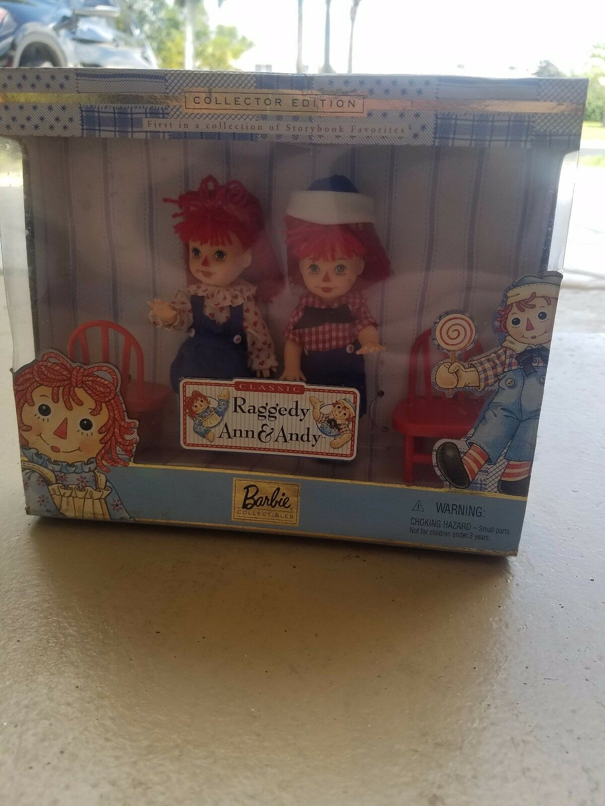 Barbie Collectibles Raggedy Ann and Andy. BRAND NEW