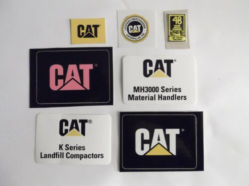 House Cars New CAT Caterpillar Logo Decal Stickers for Hard Hats Trucks