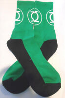 Dc Comics Green Lantern Logo Crew Socks Design 2016