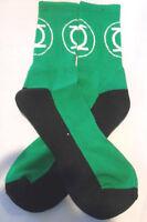 Dc Comics Green Lantern Logo Crew Socks Design