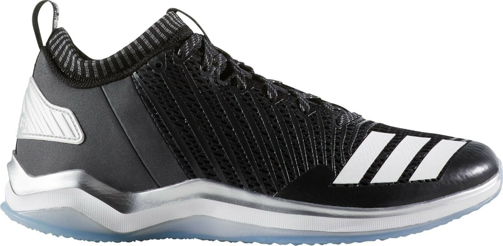 MENS ADIDAS ICON TRAINER BLACK / WH BASKETBALL SHOES MEN'S SELECT YOUR SIZE