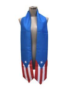 Sash USA US Country Flag Graduation Stole