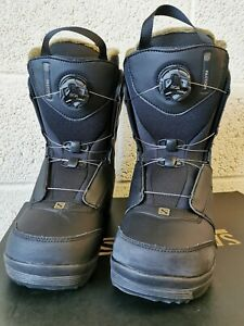 Salomon Faction Boots Mens UK 11.5 US 12.5 EUR 46 CM 30.5 REF:D51^