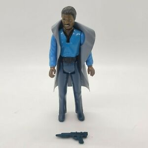 Vintage-1980-Star-Wars-Lando-Calrissian-Teeth-Showing-Complete-Original-Blaster