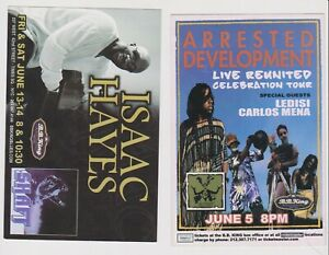 """Arrested Development Isaac Hayes Promo Glossy 4"""" x 6"""" Card"""